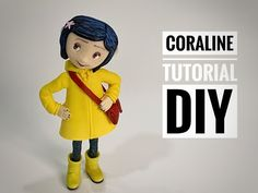 Polymer Clay Projects, Diy Clay, Diy Doll Pattern, Coraline Doll, Fondant Figures Tutorial, Clay Wall Art, 3d Prints, Pasta Flexible, Sculpture Clay