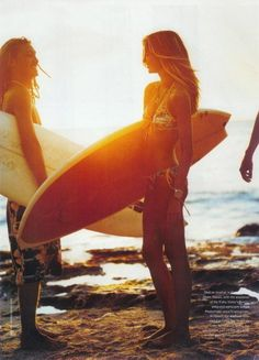 Learn to surf....being from Cali, I should already know :)