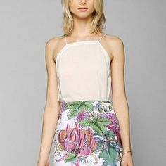 urbanoutfitters.com: Iron Fist Floral Mini Bodycon Skirt