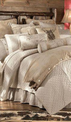 uniqueshomedesign:  Fairfield Rustic Bed charisma design