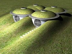 23 Unique and Functional Underground Houses That Will Amaze You Underground Building, Underground Living, Underground Shelter, Underground Homes, Natural Building, Green Building, Building A House, Earthquake Proof Buildings, Earth Sheltered Homes