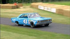 """1967 Plymouth Belvedere GTX and the NASCAR Legend Richard Petty """"The King"""""""