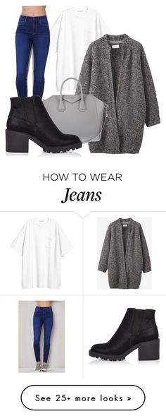 """""""comfortable, simple, casual."""" by sweetlysarita on Polyvore featuring Toast, Givenchy, PacSun and River Island"""