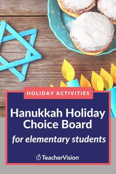 This Hanukkah-themed and blues-buster holiday choice board features 8 fun, skill-building activities to help students celebrate the holiday either in class during live learning or at home during remote learning! Perfect for elementary students. You can decide how much of the board they need to fill, and even use this as a fun holiday homework assignment while keeping their brains sharp over break and into the new year! #hanukkah #holiday #choiceboard
