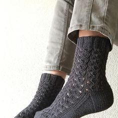 Ravelry: Karol's Hayrick Sock Knit Socks, Knitting Socks, Knits, Ravelry, Knit Crochet, Knitting Patterns, Fashion, Tejidos, Wool