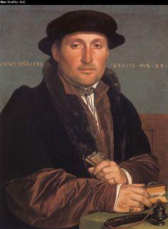 Hans Holbein the Younger Art | ... Cassatt Museum: Portrait of a young mercant Hans holbein the younger