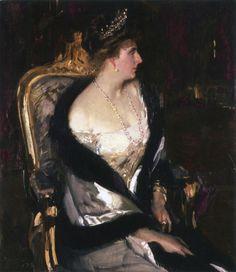 Joaquín Sorolla - Victoria Eugenia, la reina de España