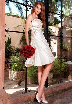 короткие свадебные платья фото 2016