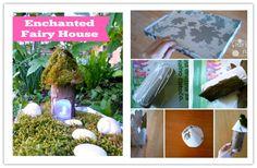 Fai da te Fairy casa Tutorial 1