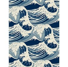 Great waves wallpaper by Cole & Son  Top 20: Nautical trend for under £100