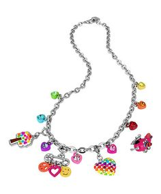 Another great find on #zulily! Rainbow Love Charm Necklace Set by CHARM IT! #zulilyfinds