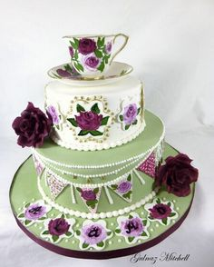 High teacup cake by Gulnaz Mitchell
