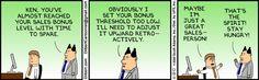 Dilbert on Sales