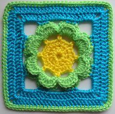 Ravelry: Kingcup pattern by Jan Eaton 200 Crochet Blocks by Jan Eaton Paperback Interweave published in September 2004