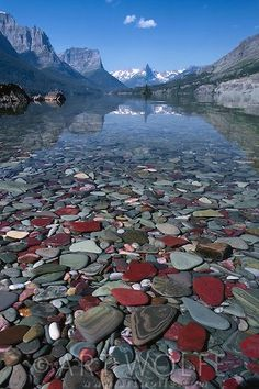#nature St. Mary Lake, Glacier National Park, Montana