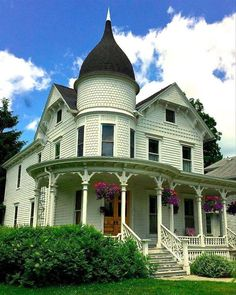 Queen Anne in Oneonta, NY.