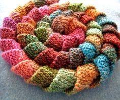 Rotini Scarf - Free knitting pattern