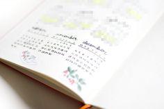 Period tracker, Bullet journal, by Caroline.