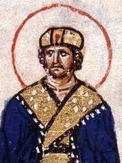 """Michael III """"The Drunkard"""" (840-867), Emperor of the Byzantine Empire. He was killed by his successor, Basil I for a supposed affair with Basil's wife, Eudikia Ingerina which resulted in the birth of Leo VI, a future Emperor."""