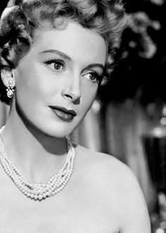 Deborah Kerr, so pretty and ladylike.  My Mother named me after her <3