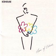 USED VINYL RECORD 12 inch 33 rpm vinyl LP Released in 1987, Man Of Colours is Australian rock/synthpop band Icehouse's best-selling album. (Regular Records RML-53239) Side 1: Crazy Electric Blue Nothi