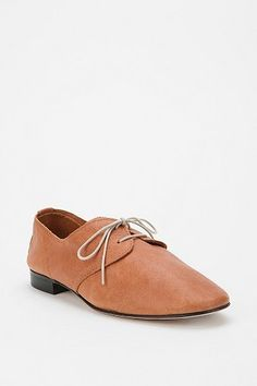 leather lace-up oxford ++ anniel