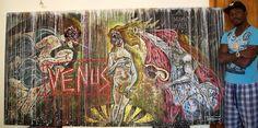 Maderic Turay, Venus, Kyo Noir Collection Viria, Venus, Painting, Collection, Art, Paintings, Draw, Drawings