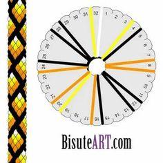 Lucet, Seed Bead Patterns, Jewelry Patterns, Beading Patterns, Kumihimo Bracelet, Bracelet Crafts, Friendship Bracelet Patterns, Friendship Bracelets, Mochila Crochet