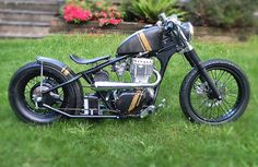 Ryca Motors - bobber kit built on suzuki savage platform.