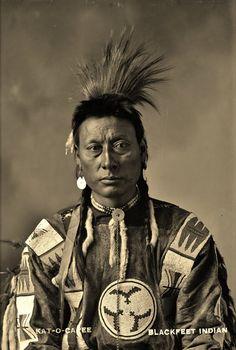 Kat-O-Capee in Alberta - Blackfoot - circa 1900