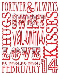 http://handsonhousewife.blogspot.com Valentine's Day Printable