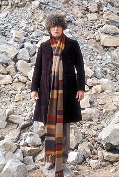 Tom Baker. I have a scarf my mother calls my Tom Baker scarf.