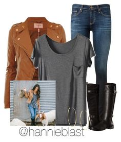 Style Steal: Joanna Gaines #ReadD by hannieblast on Polyvore featuring polyvore, fashion, style, AG Adriano Goldschmied, Aerosoles, Michael Kors, country and clothing