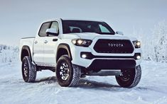 2017 Toyota Tacoma TRD Pro - Kevlar-Reinforced Tires, Rigid Industries LEDs and Black-Dipped Styling Details » Car-Revs-Daily.com
