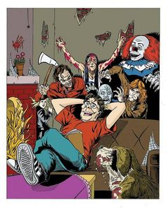 Stephen King can u name all his movies in this pic I can...