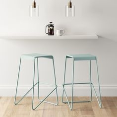 Urban city and modern simplicity blend together flawlessly to create this Frey Metal Barstool from Project 62™. Made with durable steel, clean lines and a simple design, this barstool will bring a modern mode to your space with its minimalistic aesthetic. <br><br>1962 was a big year. Modernist design hit its peak and moved into homes across the country. And in Minnesota, Target was born - with the revolutionary idea to celebrate design for all. Project 62 embodies this le...