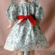 Adorable Antique Eden Bebe/ Jumeau doll dress labeled from luisa27 on Ruby Lane