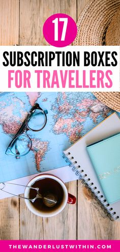Best Subscription Boxes, Monthly Subscription, Packing Tips For Travel, Travel Essentials, Travel Themes, Travel Destinations, Best Travel Gifts, World Travel Guide, Travel Box