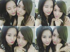 seohyun y tiffany de girls generation