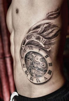 Tattoo Artist - Darwin Enriquez - Time tattoo