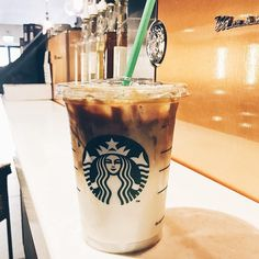 "34 Likes, 1 Comments - Wifey | Lifestyle  Blog | UK (@whatawife) on Instagram: ""☕️iced  coffee ☕️ #icedcoffee #coffeelover #coffee #ice #starbucks #macciato #caramel #straw…"""
