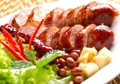 วิธีทำ ไส้กรอกอีสาน | สูตรอาหาร จานโปรด