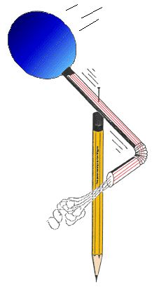 Rocket Pinwheel Activity for Apologia Young Explorers Physics and Chemistry #homeschool. Physics lesson idea.