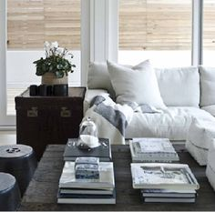natural wood & white - fabulous!