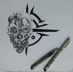 Corvo's mask unique decal that i made .hope you like it http://ift.tt/2eNfd2X