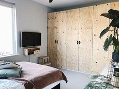 Ikea Pax Doors, Ikea Pax Closet, Ikea Pax Wardrobe, Ikea Pax Hack, Ikea Nursery, Mudroom, Interior Inspiration, Tall Cabinet Storage, Diys