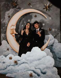 Starry Night Wedding, Moon Wedding, Celestial Wedding, Star Wedding, Wedding Wishes, Fall Wedding, Dream Wedding, Wedding Goals, Wedding Themes