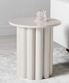 Just like its namesake, our Hera Side Table commands attention with its sophisticated form. This sculptural table is lightweight and easy to move, making it a versatile piece to rest a drink, book or even a potted plant. Home Interior Design, Interior Decorating, Diy Furniture, Furniture Design, Industrial Office Design, Decoration, Home Accessories, Engineered Wood, Diy Projects