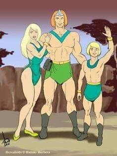 Today (June marks the official release day of The Herculoids: The Complete Original Animated Series from Warner Archive. First Family of AMZOT Old School Cartoons, Retro Cartoons, Old Cartoons, Classic Cartoons, 80s Cartoon Shows, Cartoon Video Games, Cartoon Art, Comic Book Characters, Comic Character