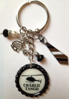 Fifty shade of Grey inspired bottle cap key by BottleCapBling101, $16.00